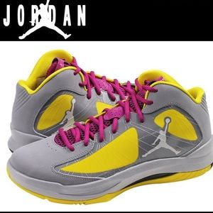 Nike Jordan Aero Flight basketball shoe like new 8